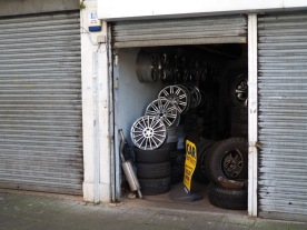 The local tire shop