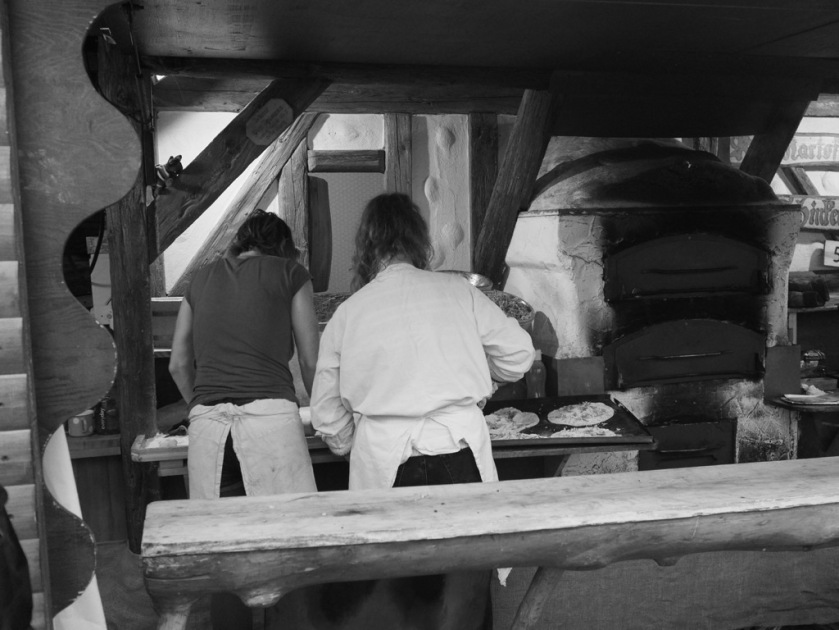 Historische Flammküchen